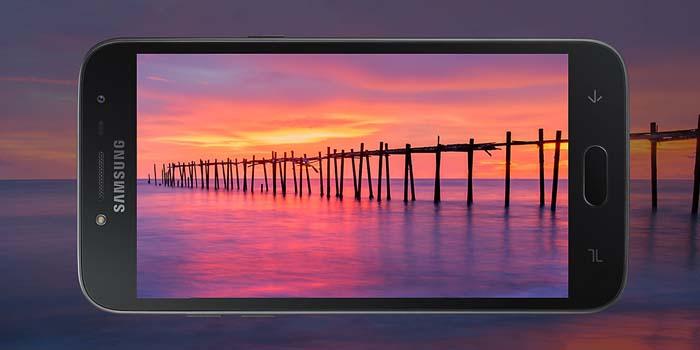 Samsung Galaxy J2 Pro 2018 Header