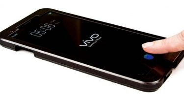 Vivo Under Display Feature