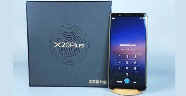Vivo X20 Plus UD Feature