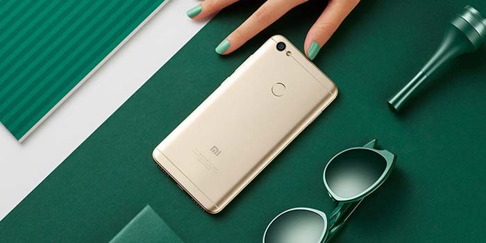 Xiaomi Redmi Note 5A Prime Header