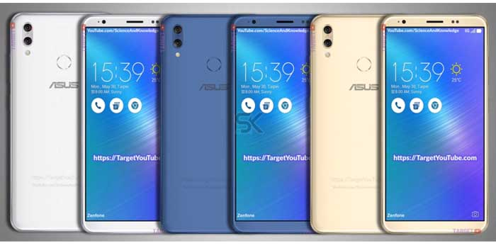 ASUS Zenfone 5 2018 All Leak