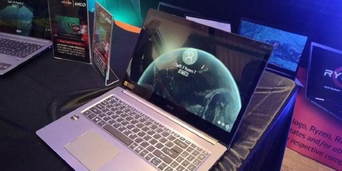 Perilisan Acer Swift 3 - Tampak Samping