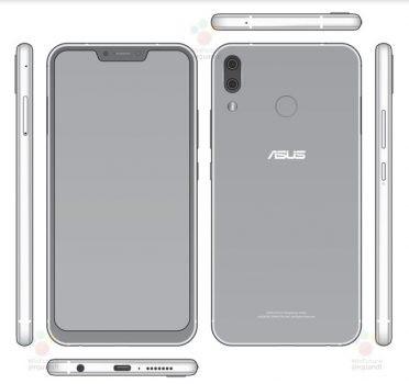 Render Asus Zenfone 5