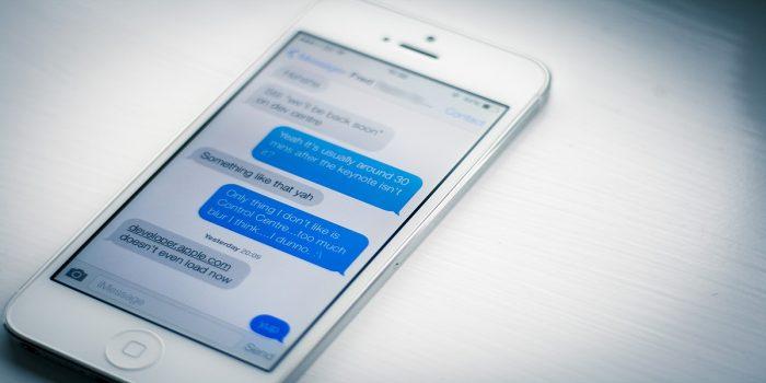 Bug Telugu Karakter iOS di iMessage