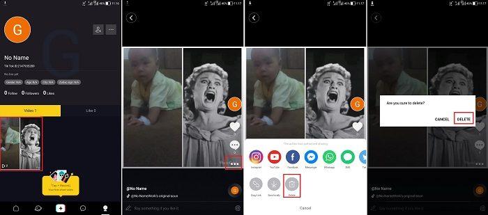 Cara Menghapus Video di Tik Tok
