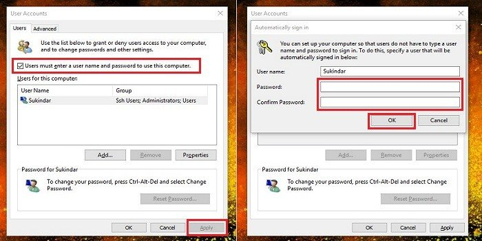 Cara Menonaktifkan Password Di Windows 10 Gadgetren