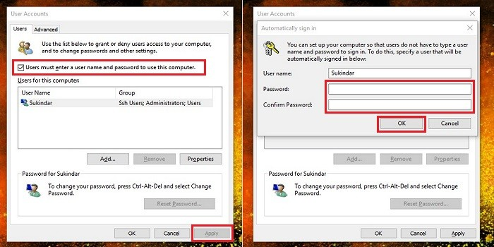 Cara Menonaktifkan Password di Windows 10