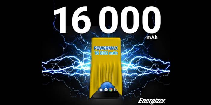 Energizer Power Max 16K Pro Header