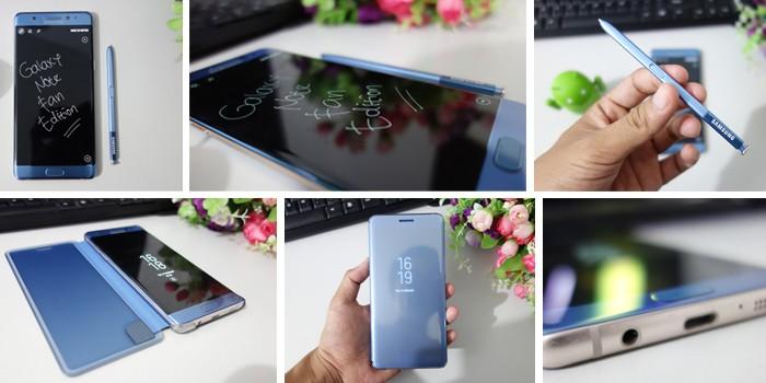 Galaxy Note FE - Desain