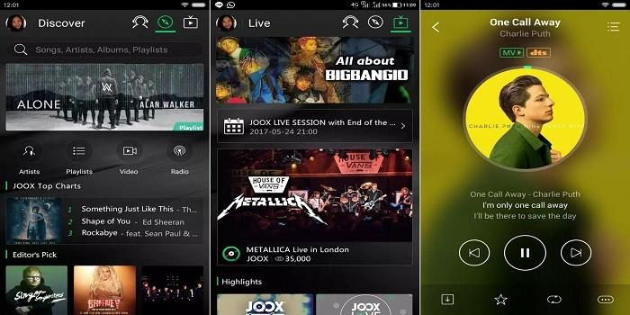 Aplikasi Karaoke Android - JOOX Music
