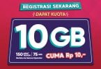 Kuota 10GB Registrasi Ulang Telkomsel Featured