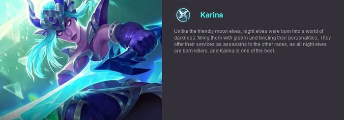 Mobile Legends Karina