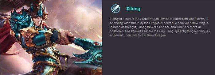 Mobile Legends Zilong