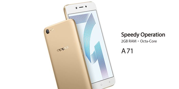 OPPO A71 Banner