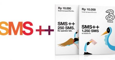 Paket SMS Tri 3 Featured