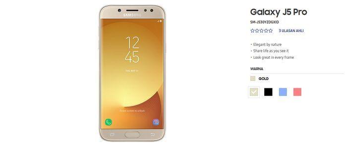 Samsung Galaxy J5 Pro Wide