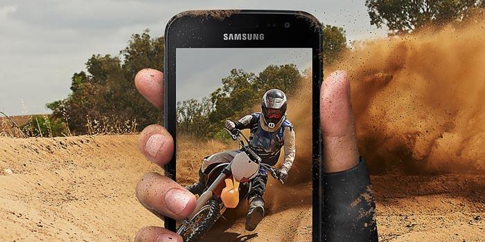 Samsung Galaxy Xcover 4 Header