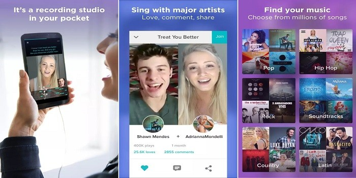 Aplikasi Karaoke Android - Smule