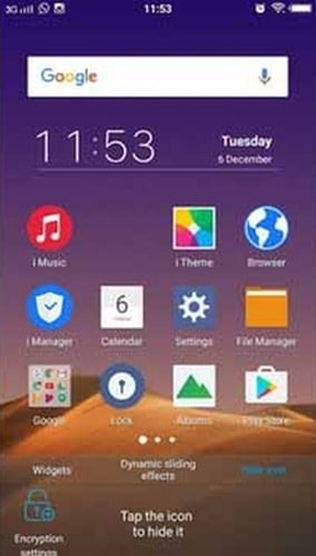 Vivo Hide Icon