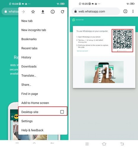Cara Menggunakan Whatsapp Web Di Android Tanpa Aplikasi Gadgetren