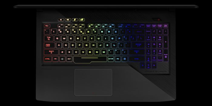 ASUS ROG Strix GL503VS Keyboard