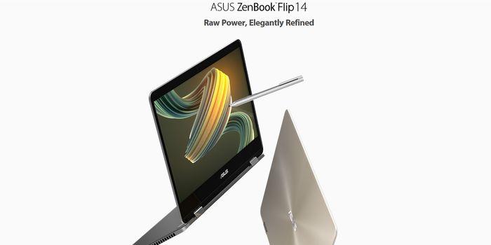 ASUS ZenBook Flip UX461 Header