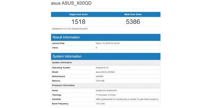 ASUS Zenfone 5 Max ok
