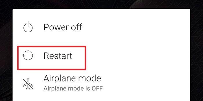Cara Mengatasi Perbarui Google Play Store Ke Versi Terbaru - Restart