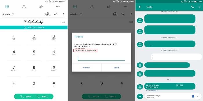 Cara Mengecek Registrasi NIK di Layanan Telkomsel Dengan Kode Panggilan