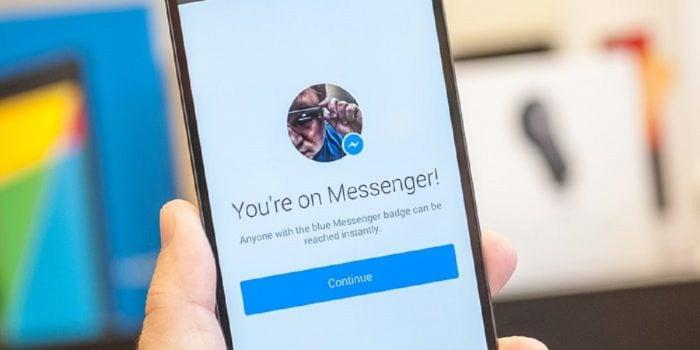 Cara Keluar Dari Messenger FB Header