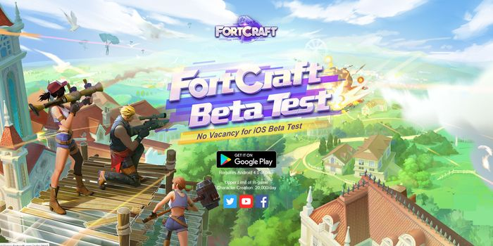 FortCraft Android iOS Header
