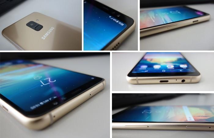 Galaxy A8 Plus 2018 - Desain