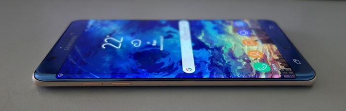 Galaxy Note FE - Layar
