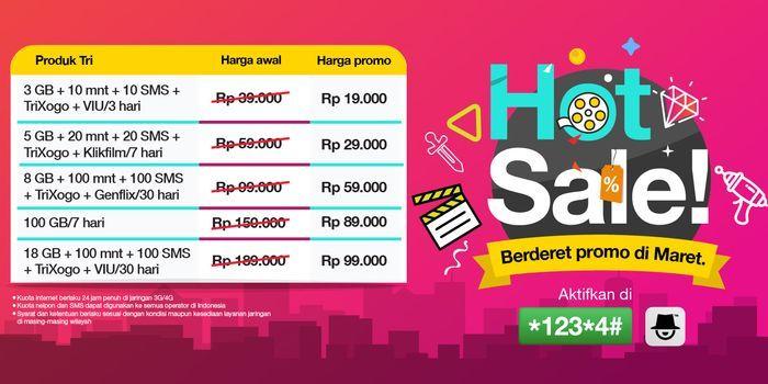 HotSale Paket Kepo Tri Header
