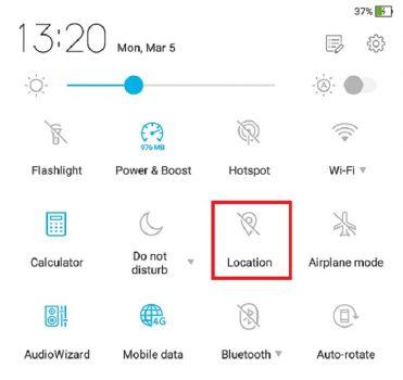 Kenapa Aplikasi LINE Boros Baterai - Lokasi Aktif