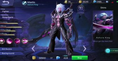 Martis Hero Mobile Legend Featured