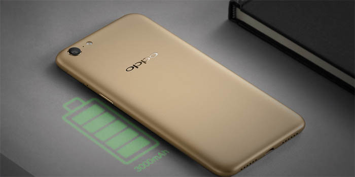 OPPO A71 Battery Header