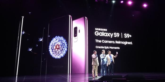 Samsung Galaxy S9 Launch Header