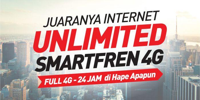 Smartfren Unlimited 4G Rp 99 Ribu Header