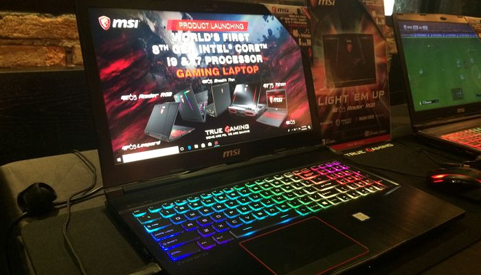 MSI GE63 Raider RGB Edition