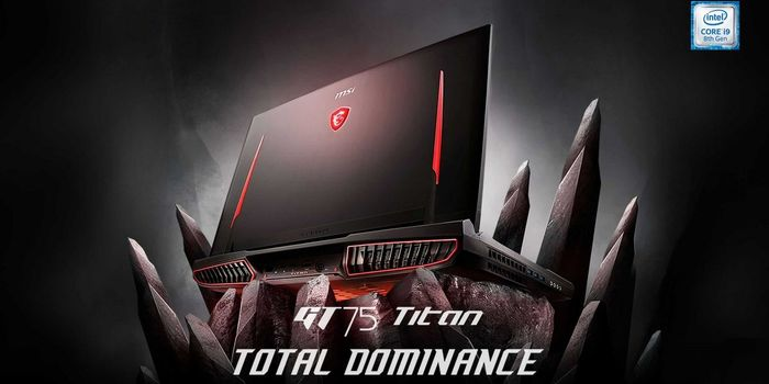 MSI GT75 Titan Header