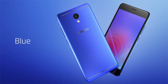 Meizu M6 Blue Header