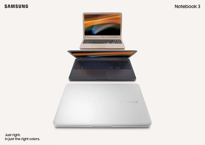 Samsung Notebook 3 Desain