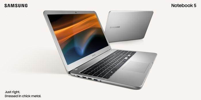 Samsung Notebook 5 Desain