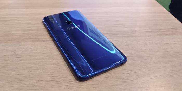 Vivo V9 Cool Blue Back