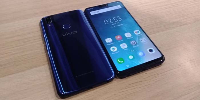 Vivo V9 Cool Blue Header