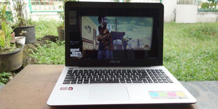 Laptop Untuk Multimedia - ASUS X555QG Featured