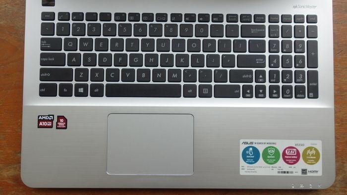 X555QG Touchpad