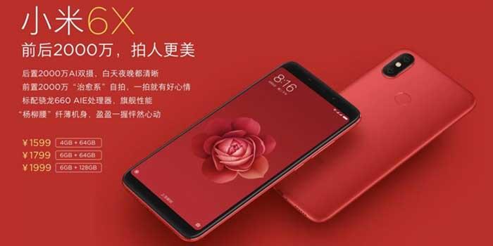 Xiaomi Mi 6X Harga