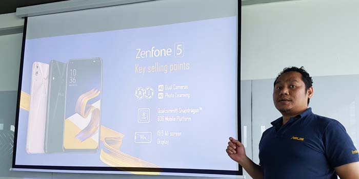 ASUS Zenfone 5 Key Sell